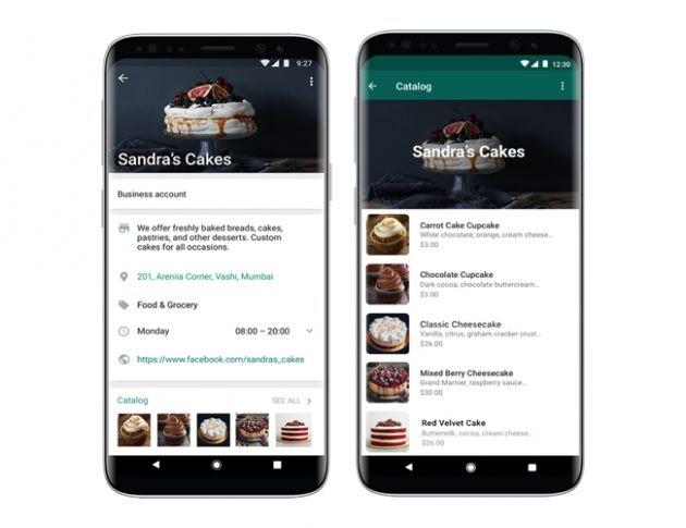 Whatsapp Business: catalogo prodotti