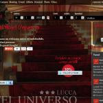 Marianna Marcucci dell'Hotel Universo di Lucca