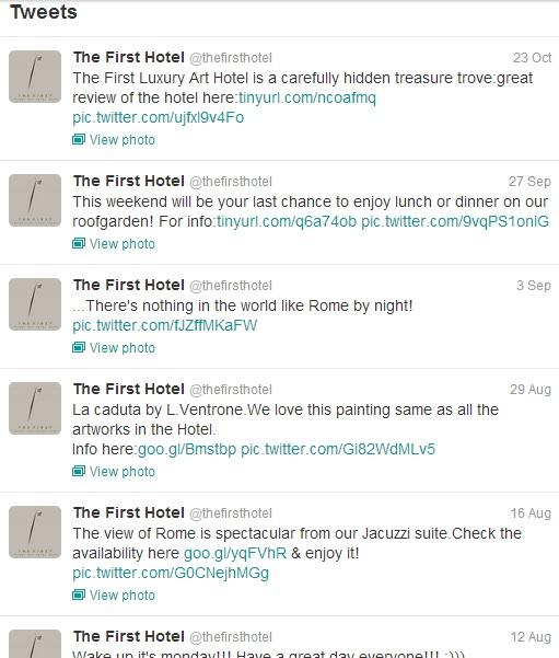 twitter first lux art hotel
