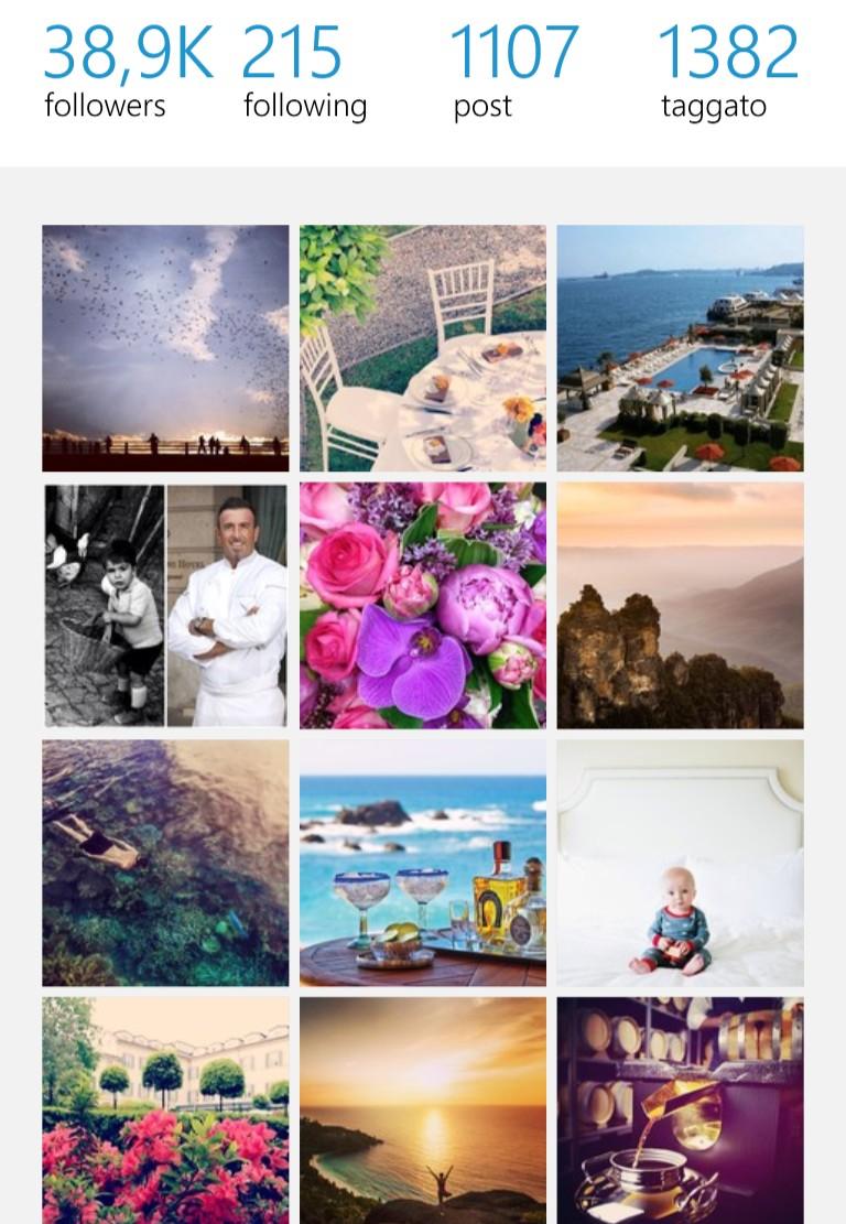 Profilo Instagram Four Season