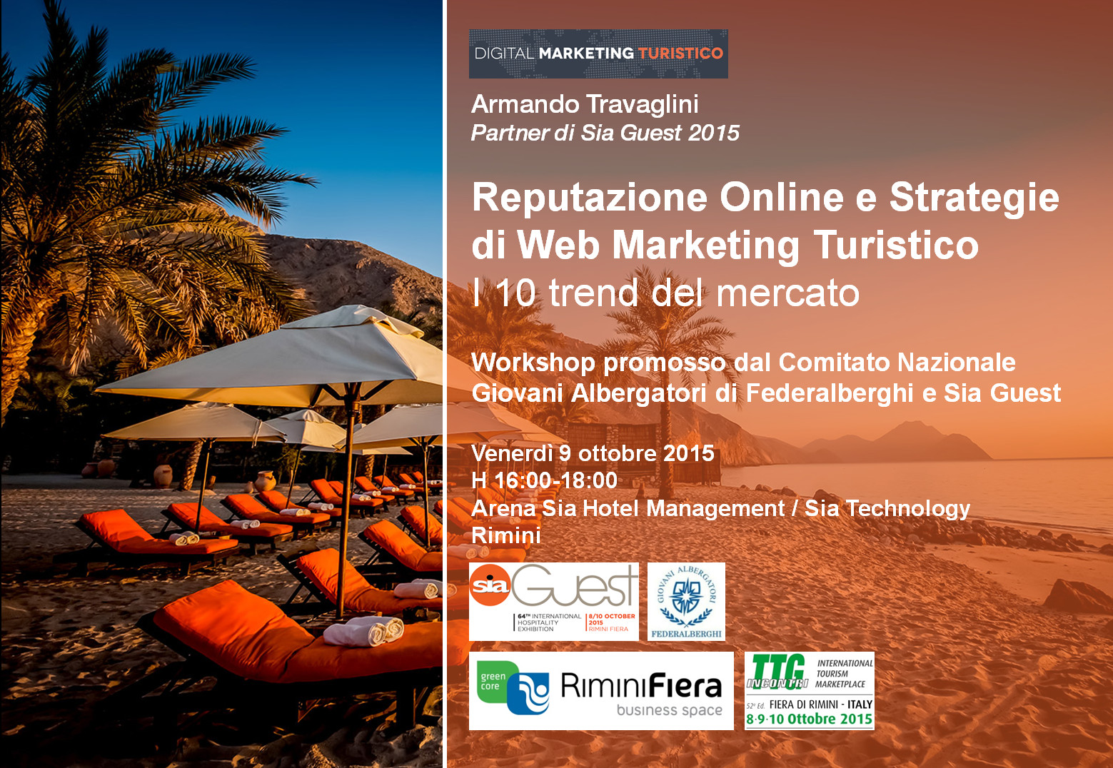 sia guest armando travaglini web marketing turistico