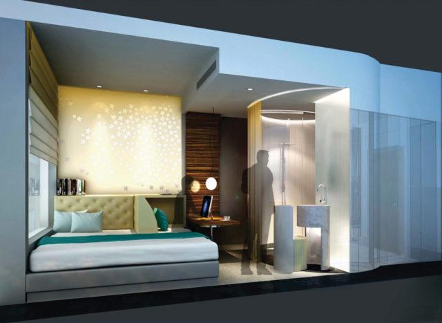 camera hotel futuro