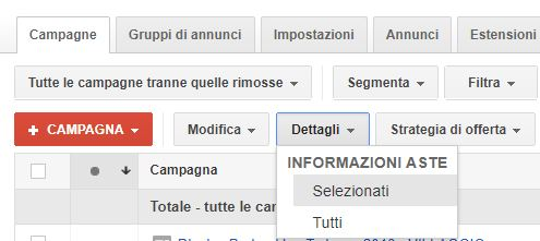 info aste adwords ppc