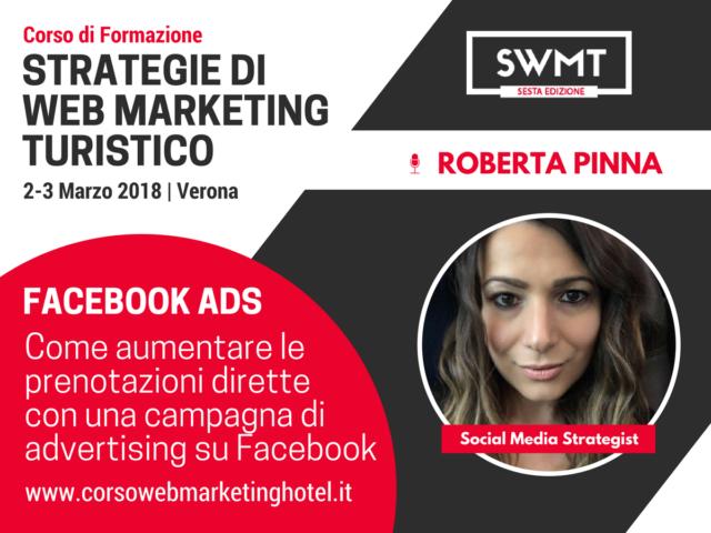Roberta Pinna Social Media Marketing per hotel
