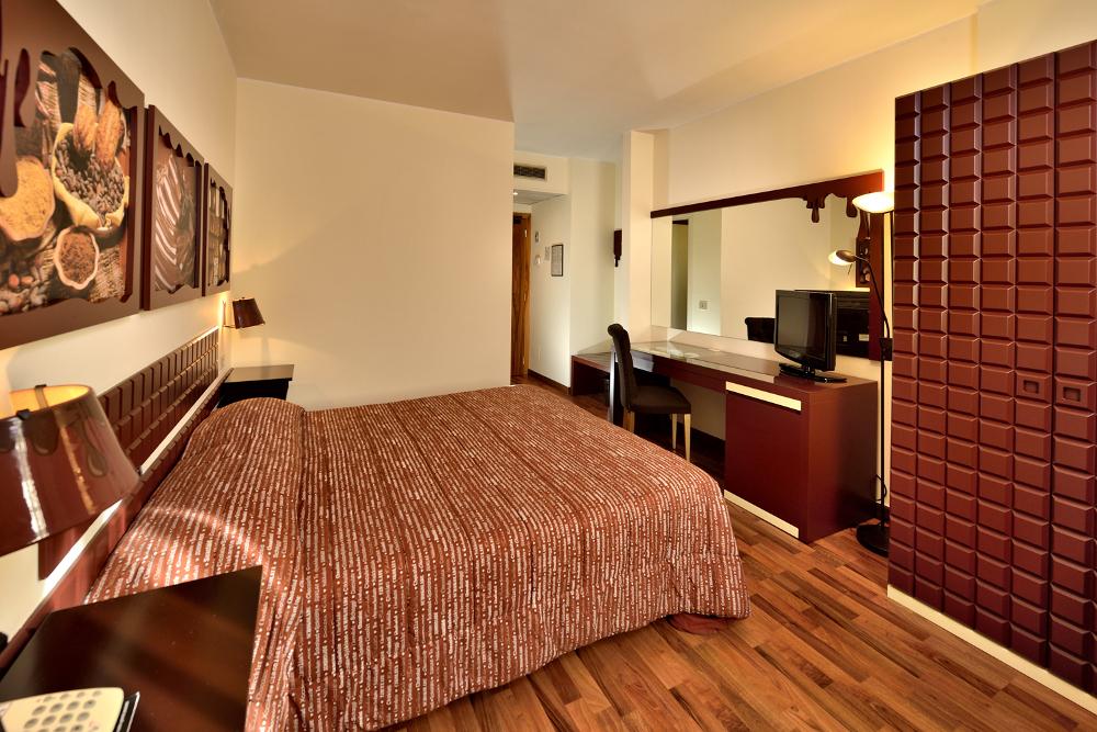 Chocohotel camere hotel di cioccolato