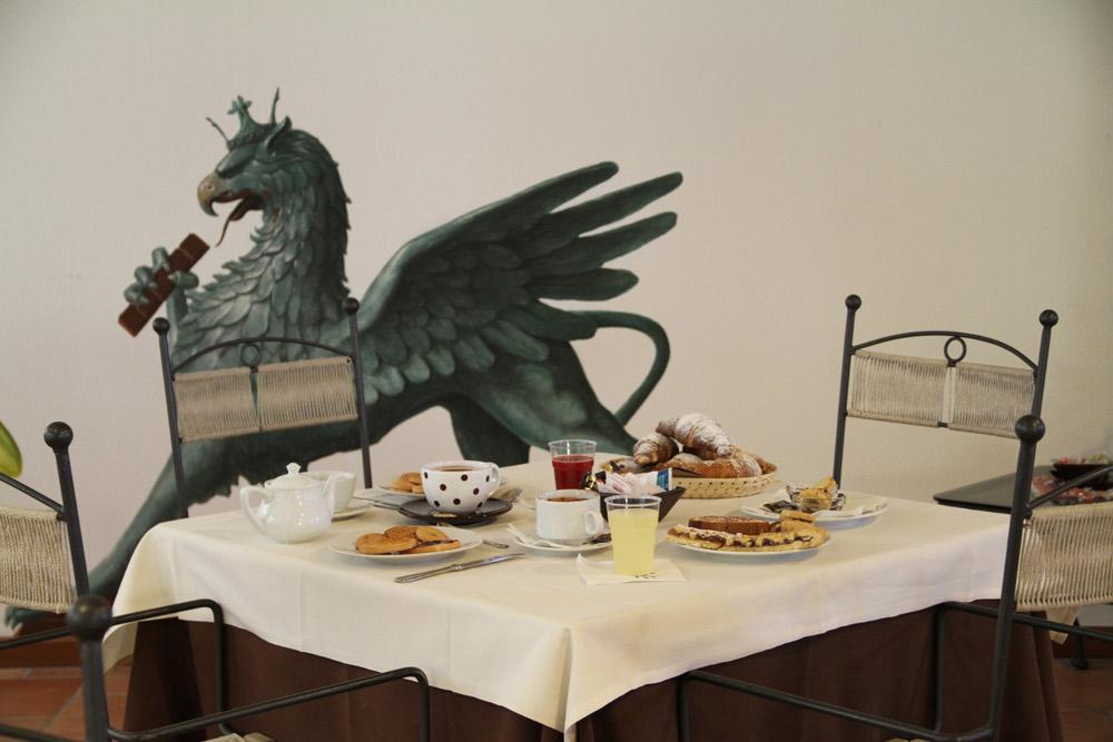 sala colazione Chocohotel